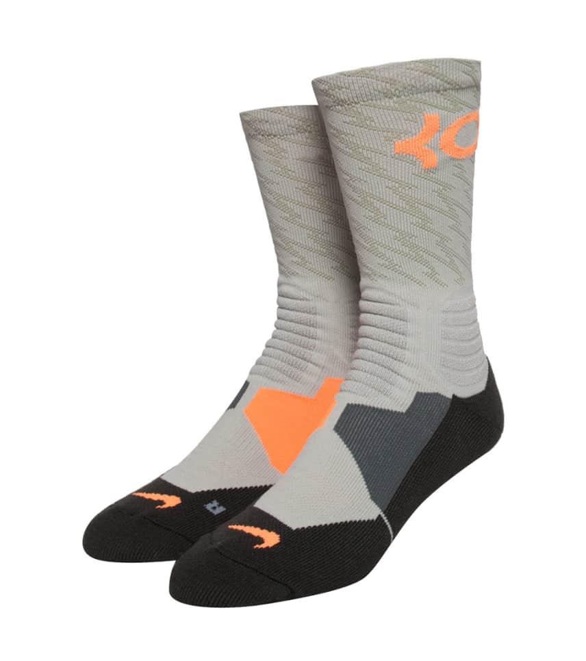 eb7db2066e7 Nike KD HYPERLITE BASKETBALL CREW SOCK (Grey) - SX4972-054