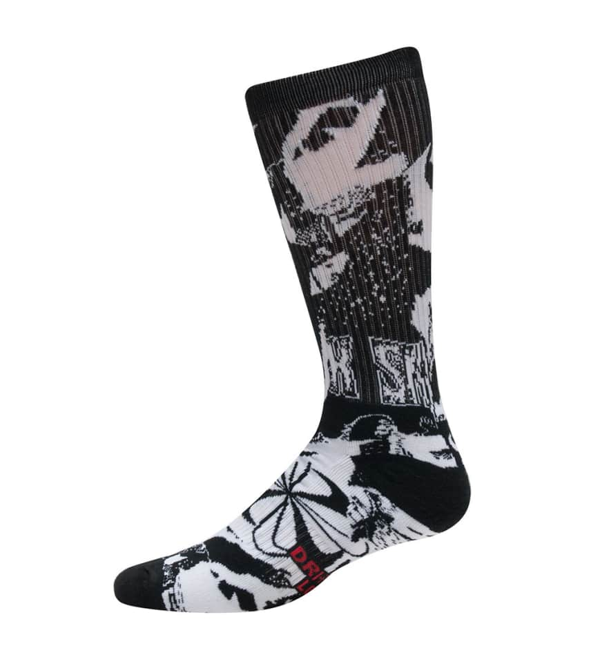 40d488314e2813 Nike SB GRAPHIC CREW SOCKS (Black) - SX5404-011