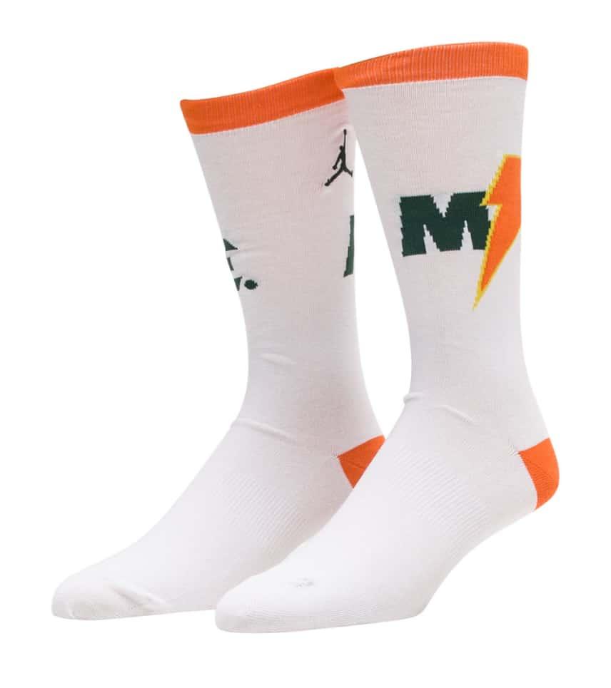 a29b9edb3c0a43 Jordan Jordan Gatorade Crew Socks (White) - SX7517-100