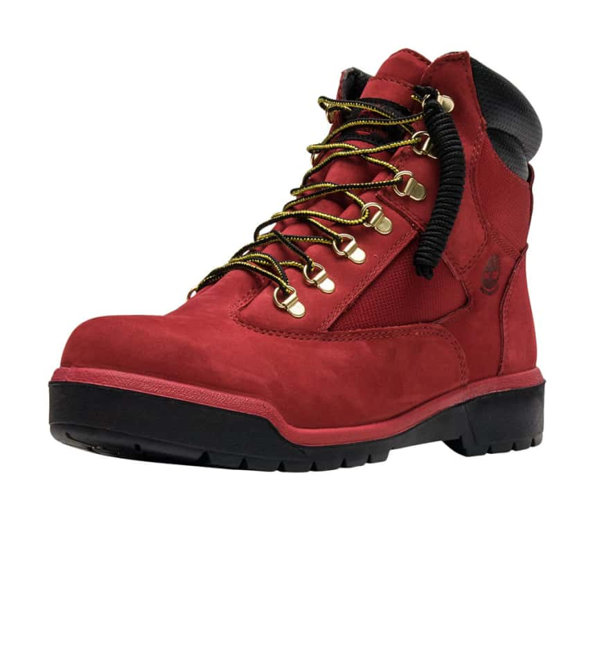 184197d10547 Timberland 6 INCH FIELD BOOT (Red) - TB0A1Q55F41