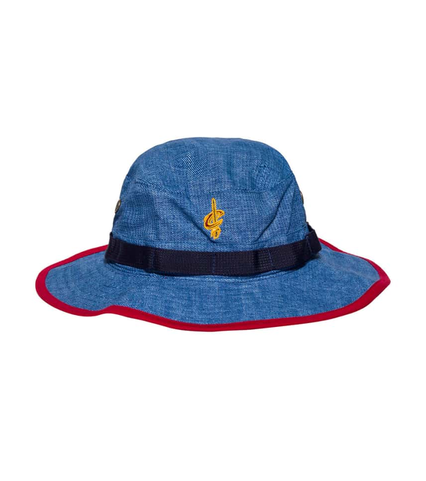 Mitchell and Ness Cleveland Cavaliers Bucket Hat (Blue) - U249ZCAVAL ... 174a27da696
