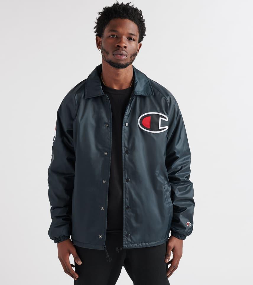 dbdc21d7126c Champion Sherpa Lined Coaches Jacket (Black) - V3699549-003