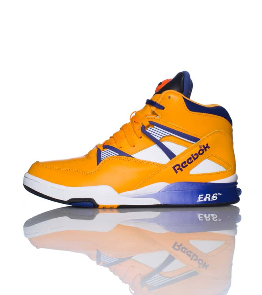 fb1eec727d9 Reebok PUMP OMNI ZONE RETRO SNEAKER (Yellow) - V60500