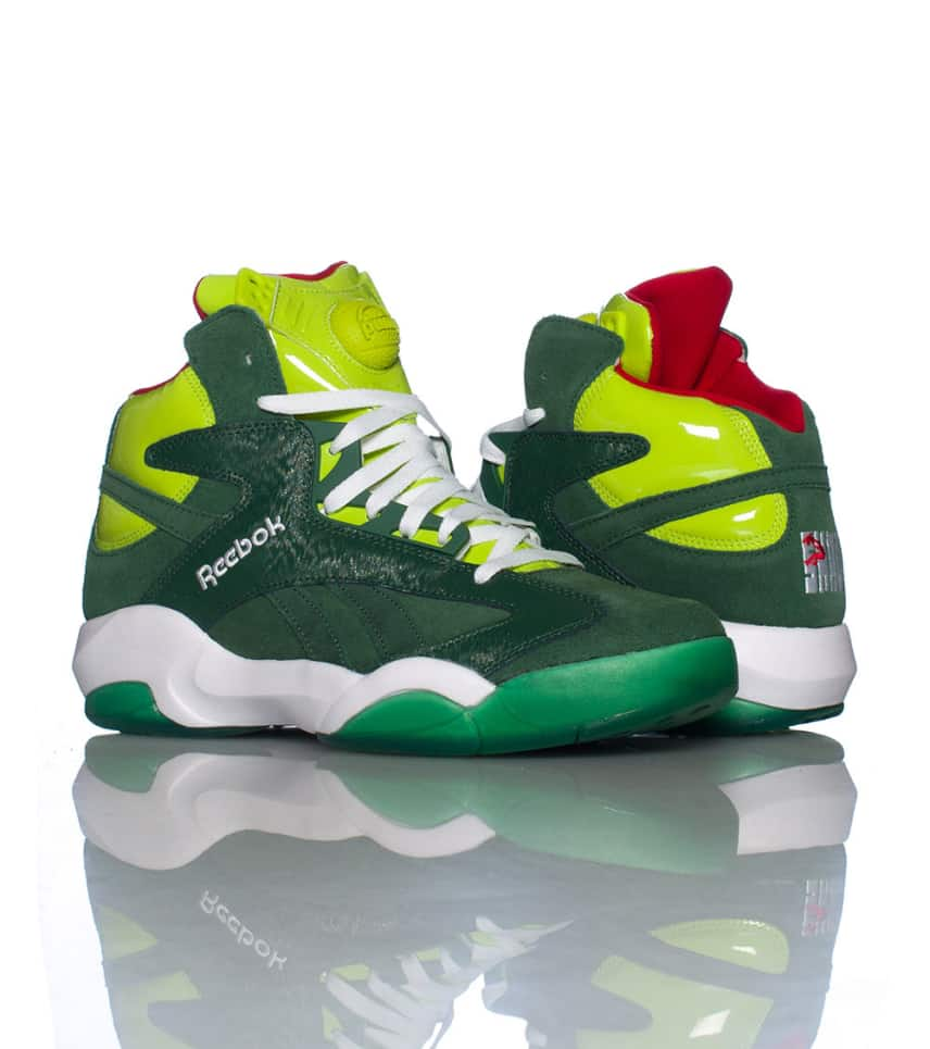 3d17e4209da243 Reebok SHAQ ATTAQ GHOSTS OF CHRISTMAS PRESENT (Green) - V61428 ...