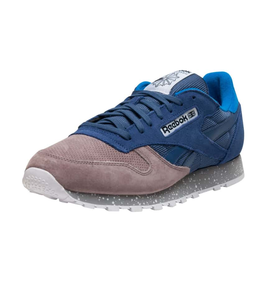 Reebok CLASSIC LEATHER SM (Blue) - V67679  4f637ce78