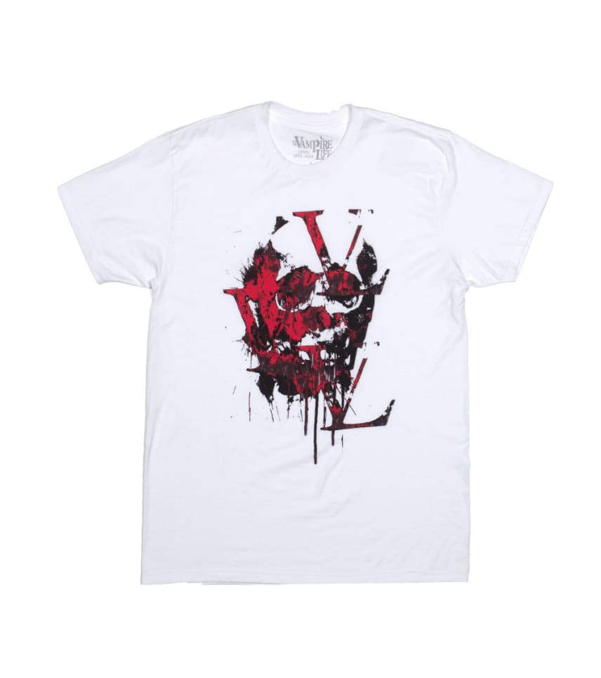 620af81809d3 VAMPIRE LIFE The Ghost Tee (White) - VA151208