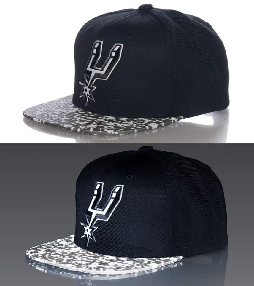 info for 47f8c 3e767 MITCHELL AND NESS SAN ANTONIO SPURS NBA SNAPBACK CAP
