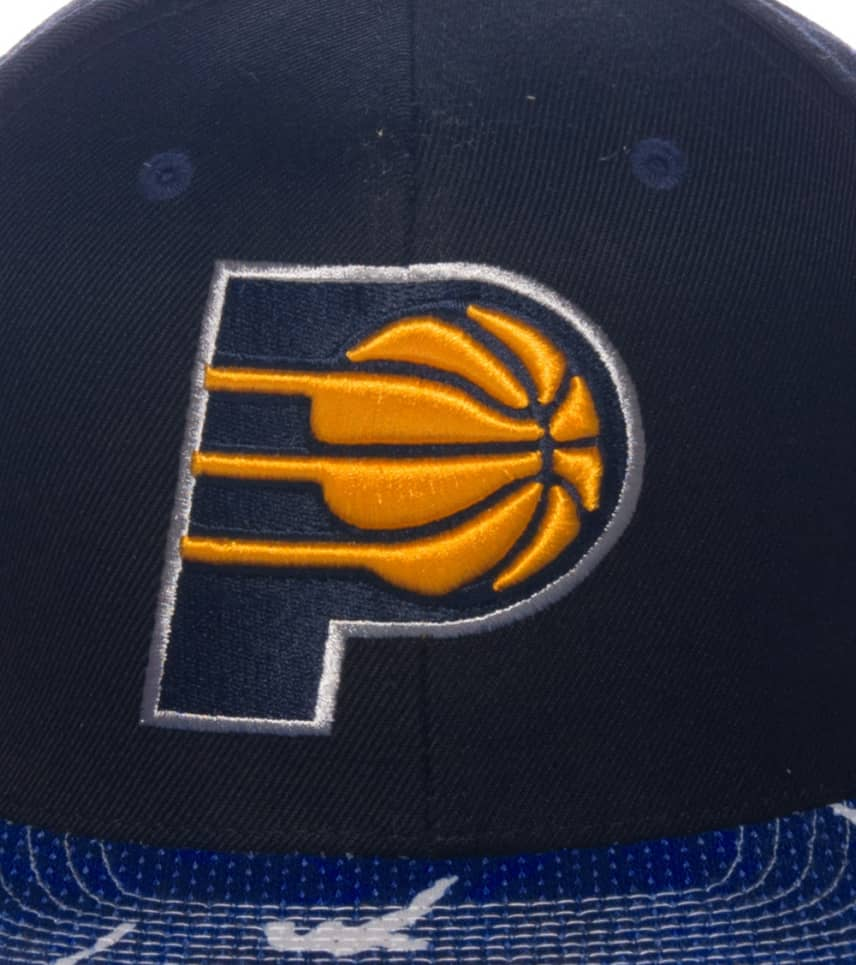 44bff829b4224 Mitchell and Ness INDIANA PACERS SNAPBACK CAP (Black) - VF38ZPACER ...