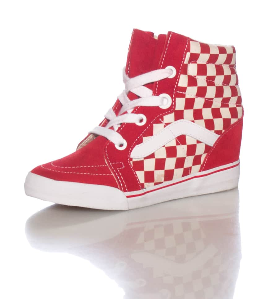 a366d1a0bd VANS SK8-HI WEDGE SNEAKER (Red) - VN-0UDH8JR