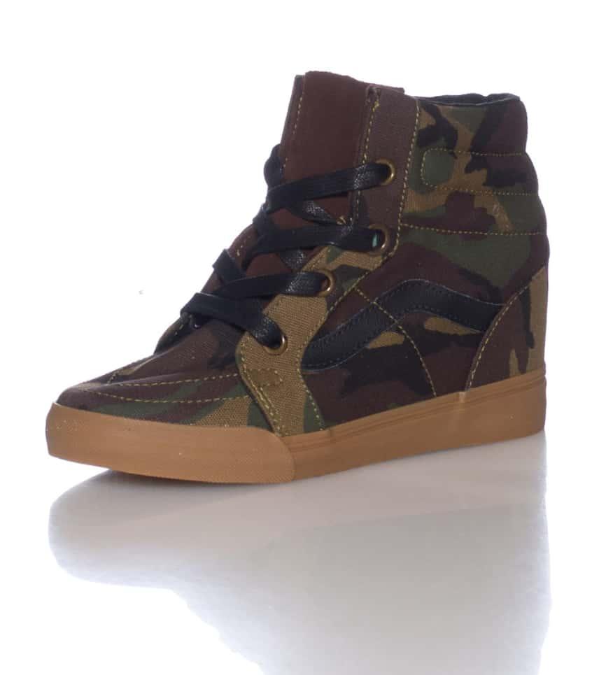 VANS Sk8-hi Wedge Sneaker (Green) - VN0UDHAT1  ca98896ba8