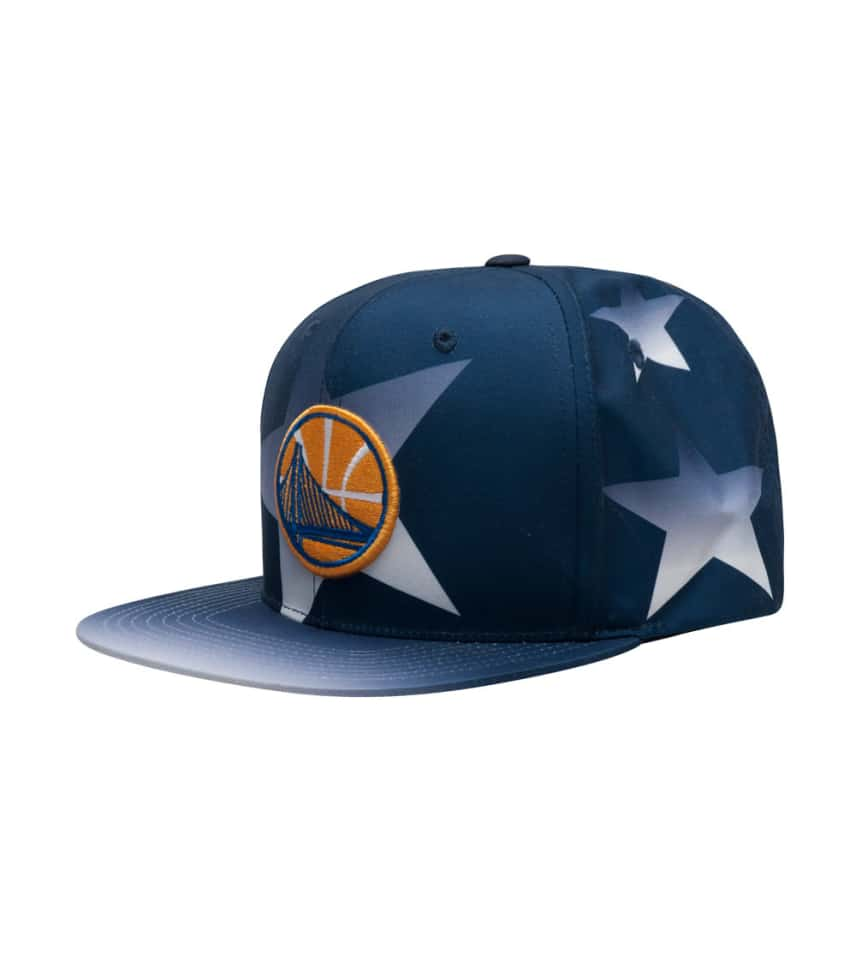 d7ebb691fd7 Mitchell and Ness Golden State Warriors Snapback Hat (Blue ...