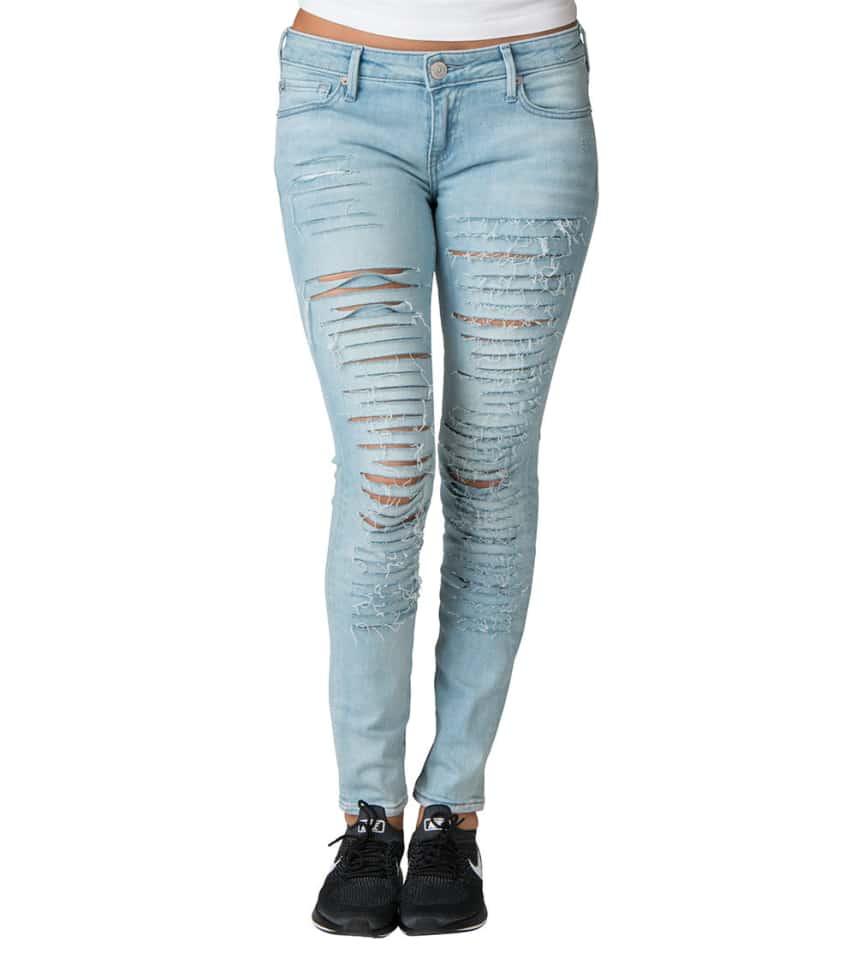 121cb20be True Religion Casey Low Rise Super Skinny Jean (Medium Blue ...