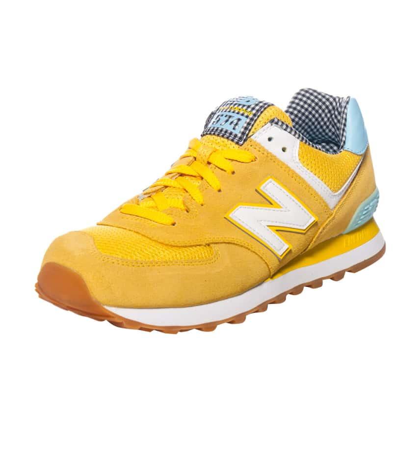 new balance 574 womens yellow