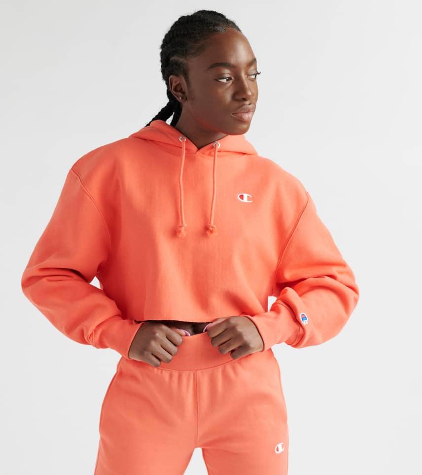 e04d5063d Champion Reverse Weave Cropped Hoodie (Medium Orange) - WL659549-DOH ...