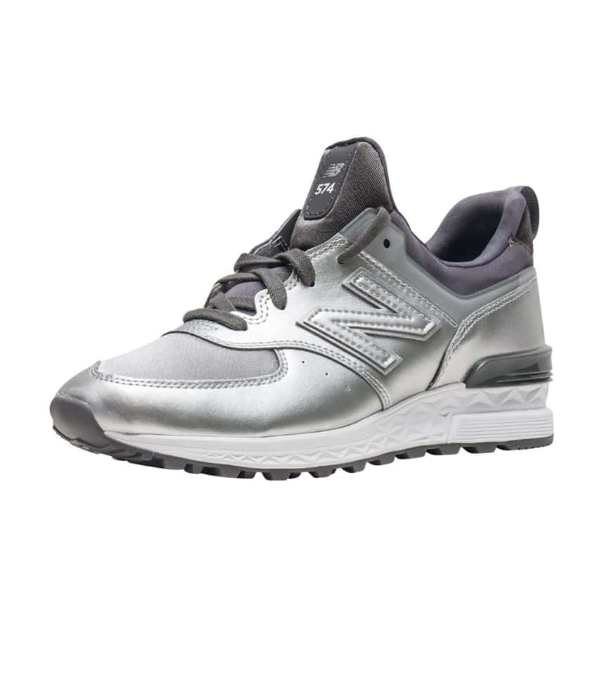 253c94236a6 New Balance 574 Sport Synthetic (Silver) - WS574SFG