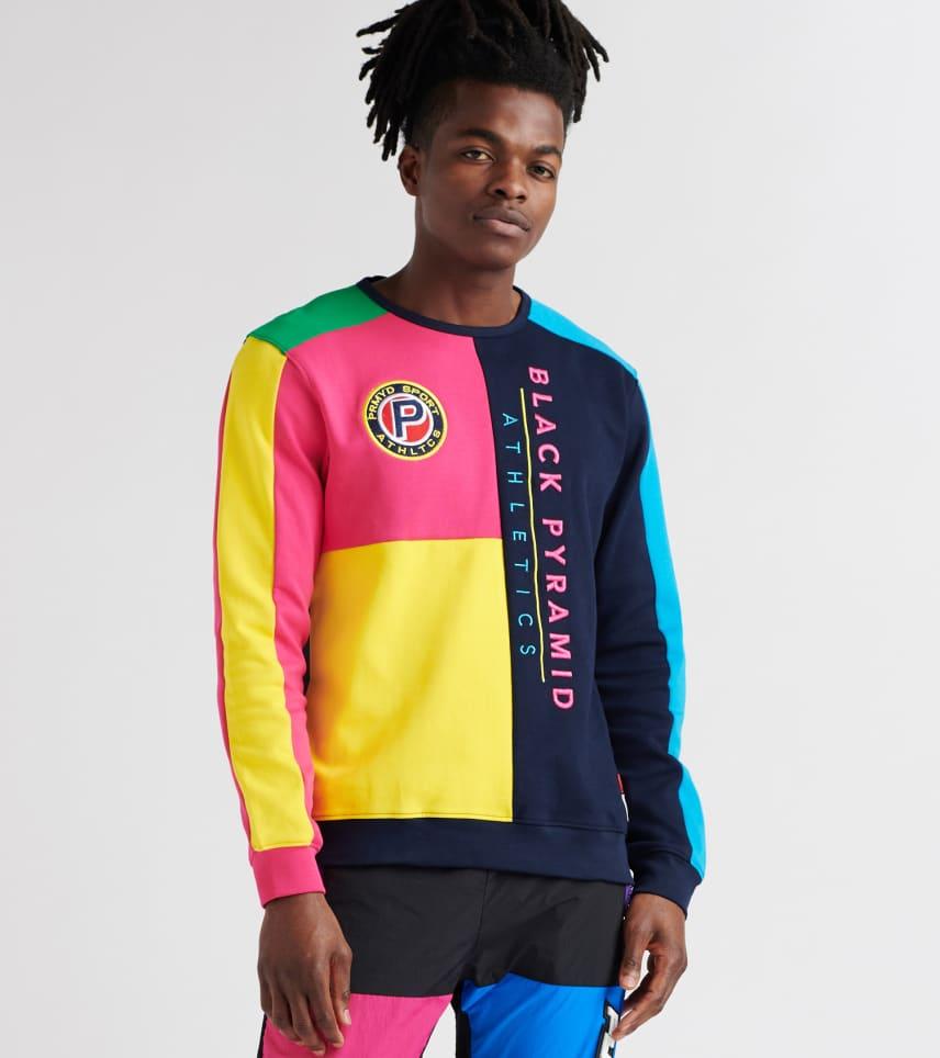 Black Pyramid MENS Athletic Color Sweatshirt Multi