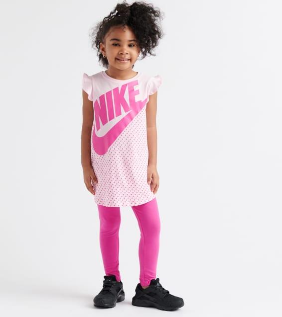 44c50c192 Nike Swoosh Fetti Tunic Capri Set (Black) - 26E669-042   Jimmy Jazz