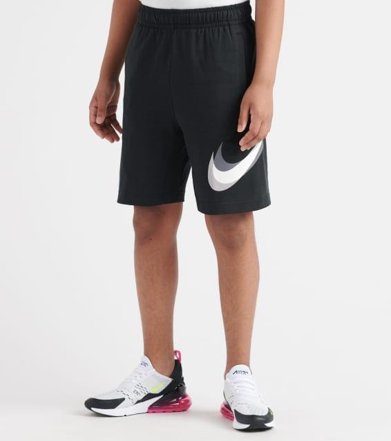 a0baf14feb3e50 Small Grey/Black Nike Womens Training Mid-Rise Base Layer Shorts