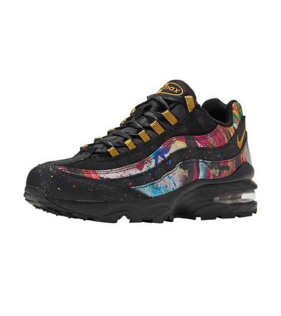 eb8045027b shopping womens nike air max 95 yellow gold 78cae 499a3