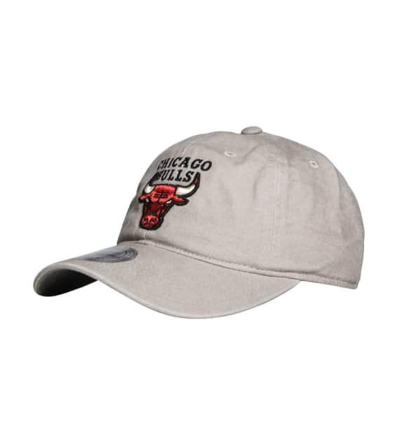 1e4c232c7db Mitchell and Ness Chicago Bulls Reverse Denim Dad Hat (Dark Grey ...