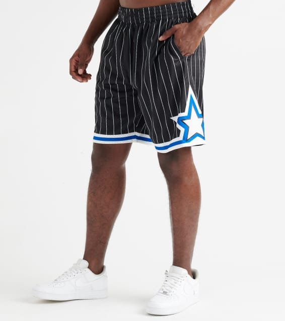 47f170c2e606a6 Mitchell And Ness Orlando Magic Swingman Shorts (Black) - SMSHGS18-ORM |  Jimmy Jazz