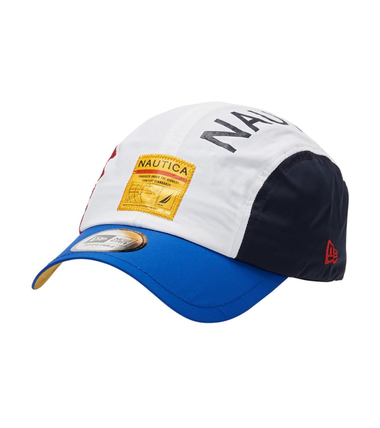 New Era Color Block Runner 9Twenty Hat In Multi-Color