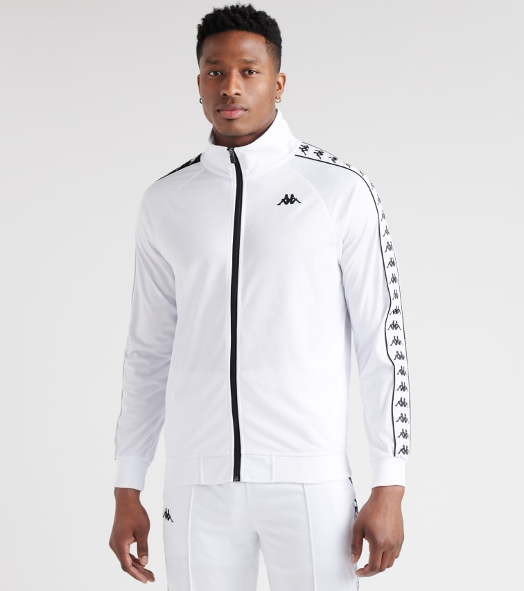 694d2af829 222 Banda Anniston Track Jacket in White