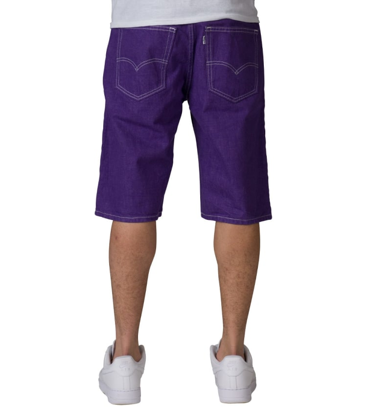Levis 569 LOOSE STRAIGHT FIT SHORT (Purple) - 35569-0245 | Jimmy Jazz
