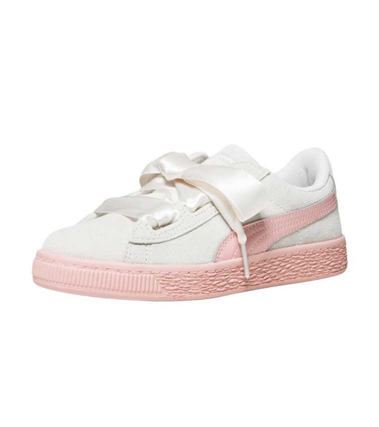 sports shoes 6a954 736dd Puma Suede Heart Jewel (White) - 365139-02 | Jimmy Jazz