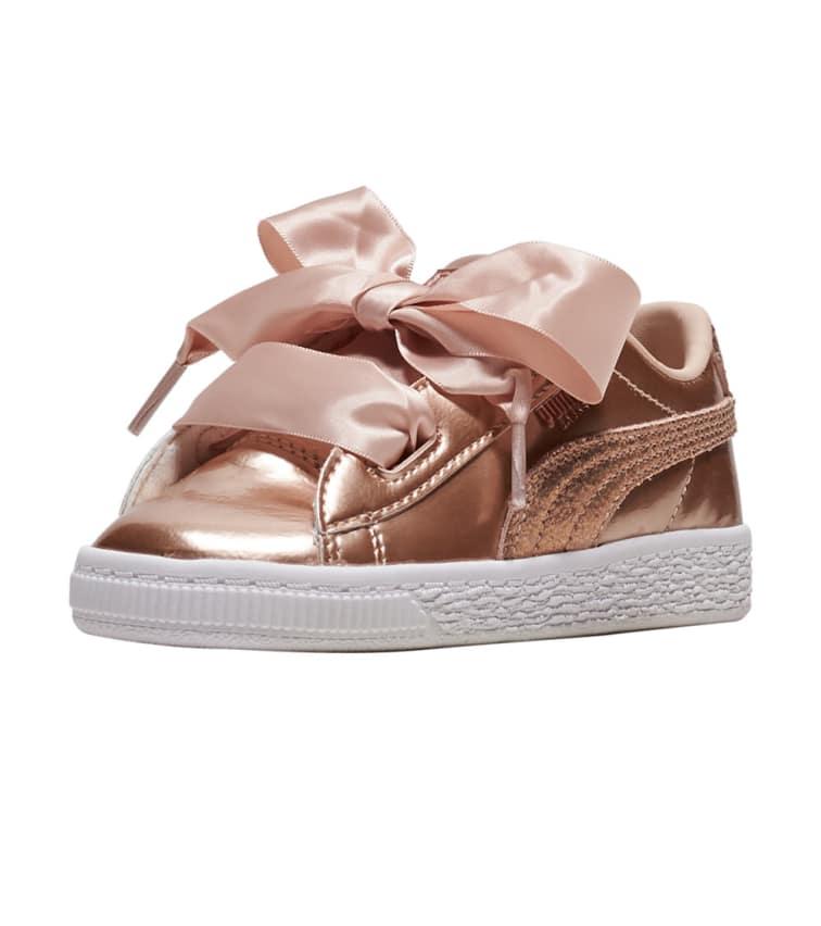 lowest price 753b2 1ea92 Puma Basket Heart Lunar Lux (Medium Pink) - 365995-02   Jimmy Jazz