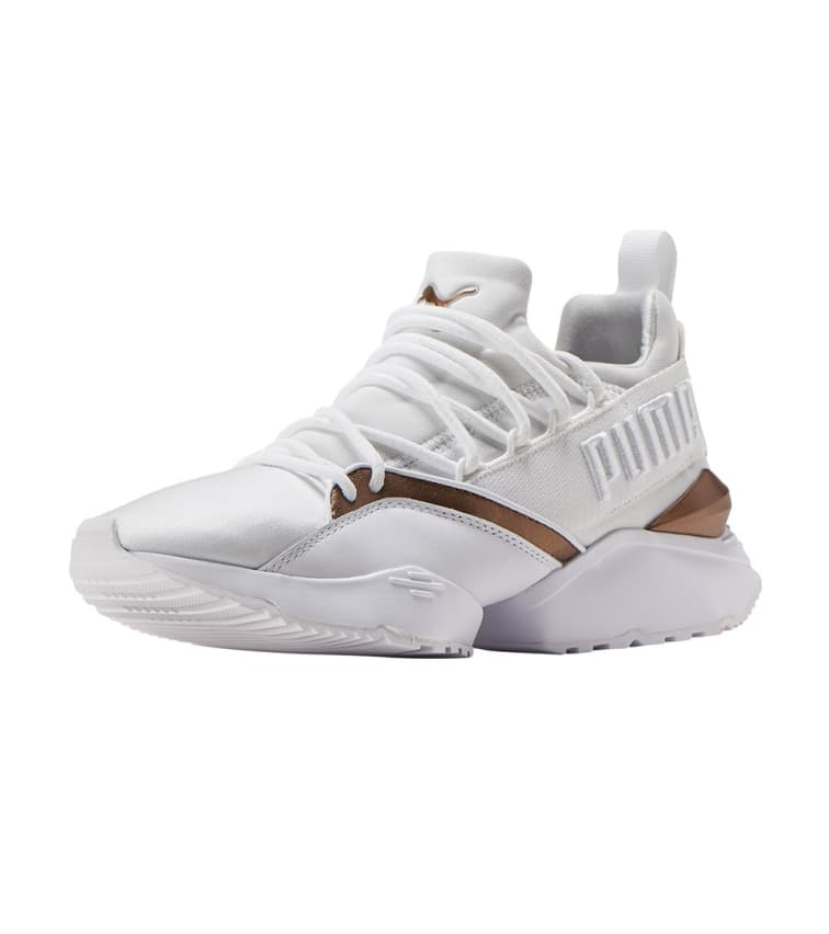 d8d4c4762a8 Puma Muse Maia Luxe (White) - 366766-02 | Jimmy Jazz