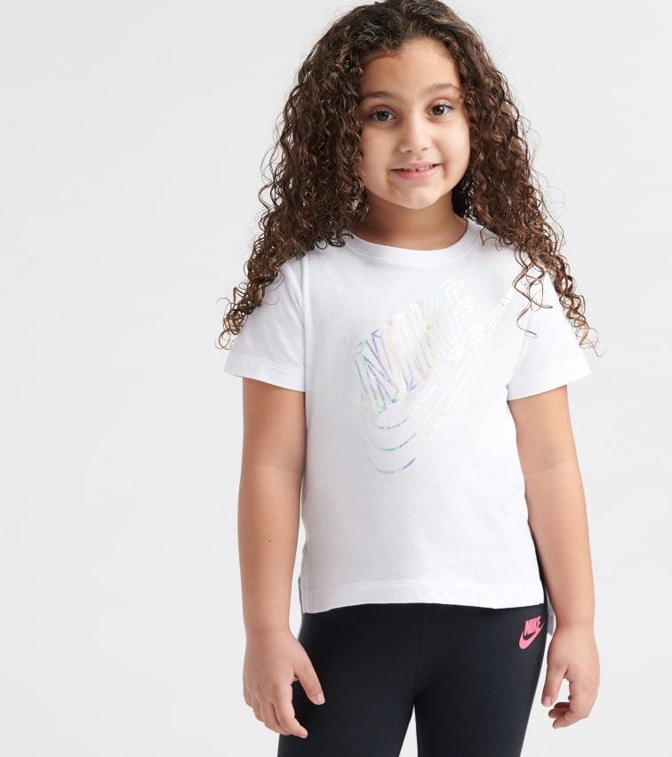 412f1d69d80 Nike Hi Lo Short Sleeve Tee (White) - 36E078-001 | Jimmy Jazz