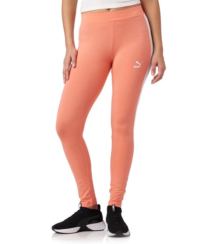 Puma Archive Logo T7 Legging In Pink