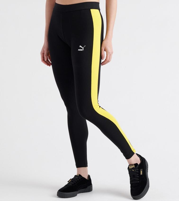 Puma Classics Logo T7 Leggings In Black