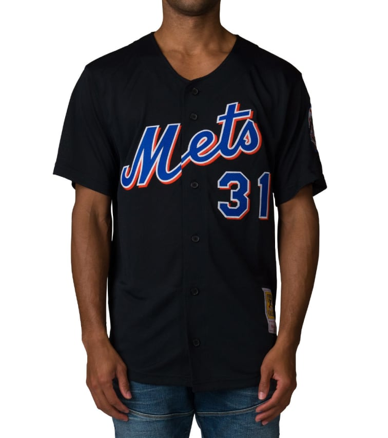 reputable site d8682 a30a4 Mitchell And Ness New York Mets Mike Piazza Jersey (Black) - 733941700M |  Jimmy Jazz