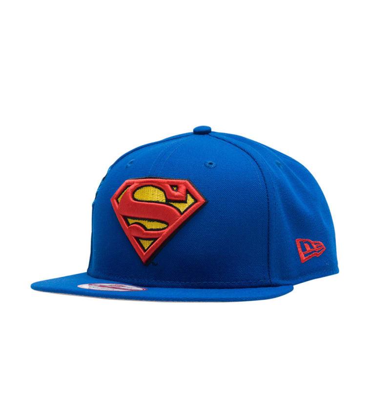 New Era Superman Snapback Hat (Blue) - 80336662  097da5c6852
