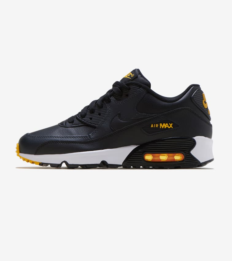 Nike Air Max 90 Brown + Crimson Synthetic & Leather Mens