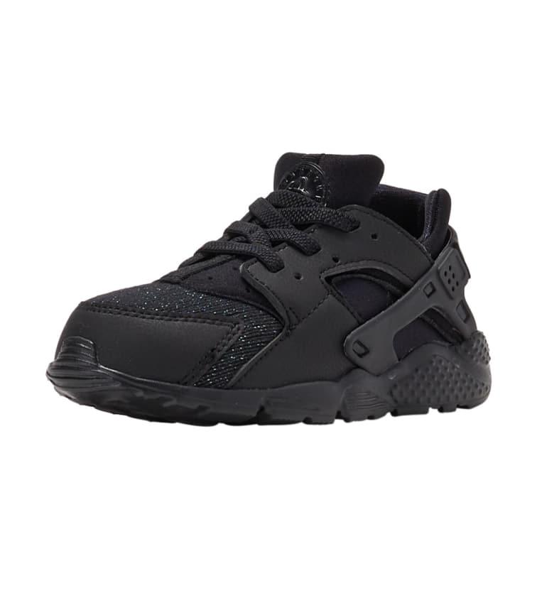 Nike Huarache Run SE Toddler/'s Shoes Black//Black 859592-009