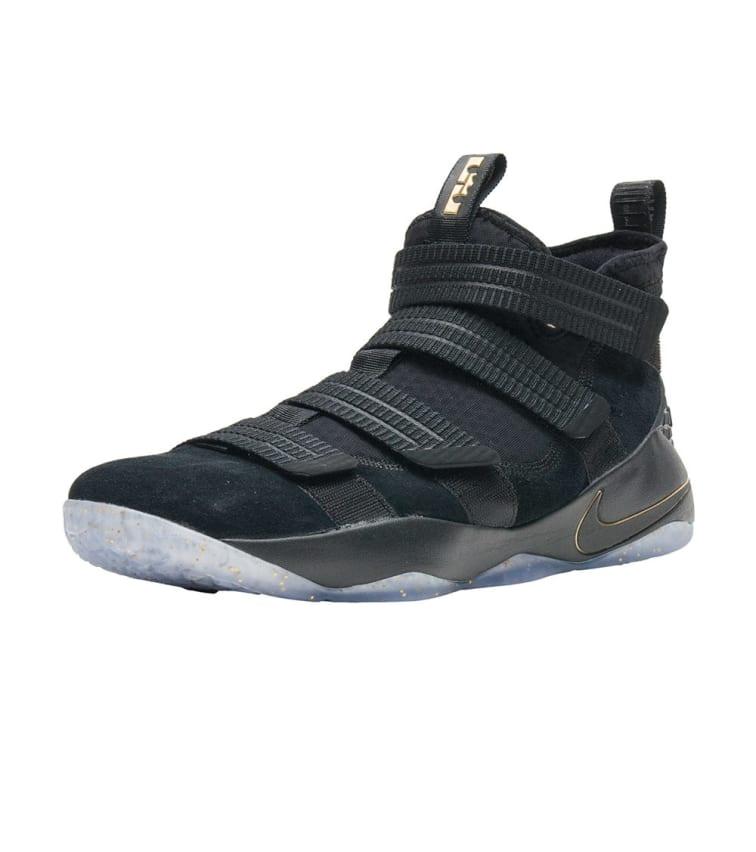 pretty nice f4e8d 3b977 Nike Lebron Soldier XI (Black) - 897646-002 | Jimmy Jazz