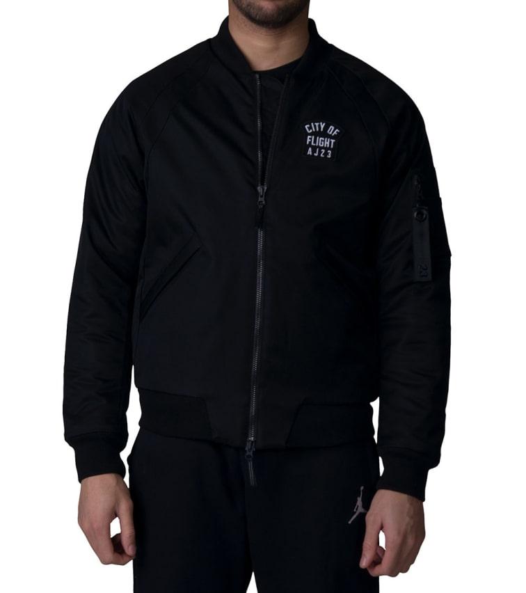 57a0300862d Jordan Wings City of Flight MA-1 Jacket (Black) - 911313-010 | Jimmy Jazz
