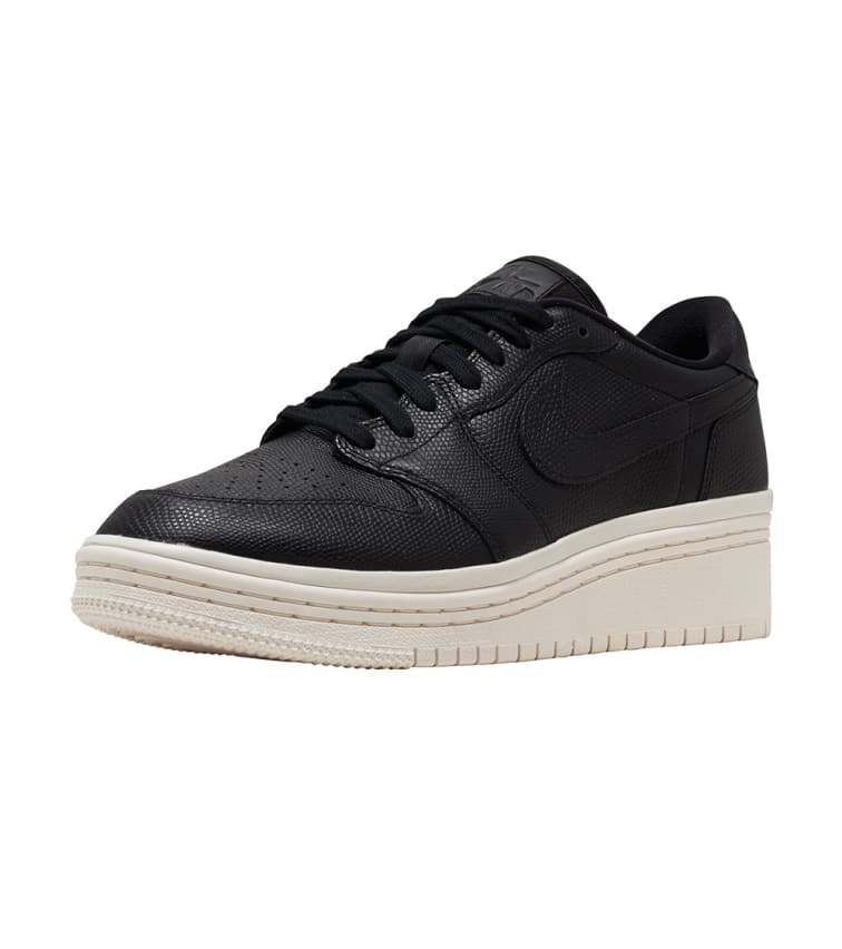 304b48f461ac8 Jordan Retro 1 Low Lifted Sneaker (Black) - AO1334-014 | Jimmy Jazz