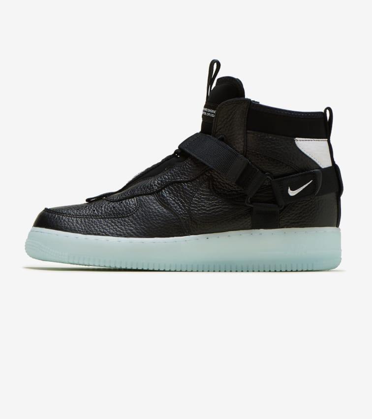 Nike Air Force 1 Utility Mid (Black) AQ9758 001 | Jimmy Jazz