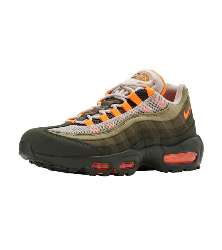 newest 18398 4fc60 Air Max 95 Og Multi Color Fabric And Rubber Sneakers in Green