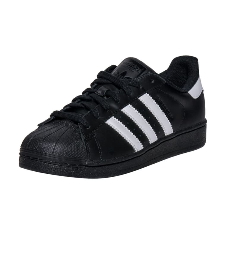 new concept c625d 6b639 Adidas SUPERSTAR FOUNDATION SNEAKER (Black) - B27140 | Jimmy Jazz