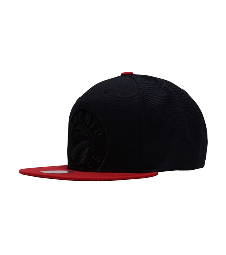 huge discount 141c8 e7e7e Mitchell and Ness Raptors Cropped Satin Snapback Hat (Black) - BH72DRTRA2TA    Jimmy Jazz