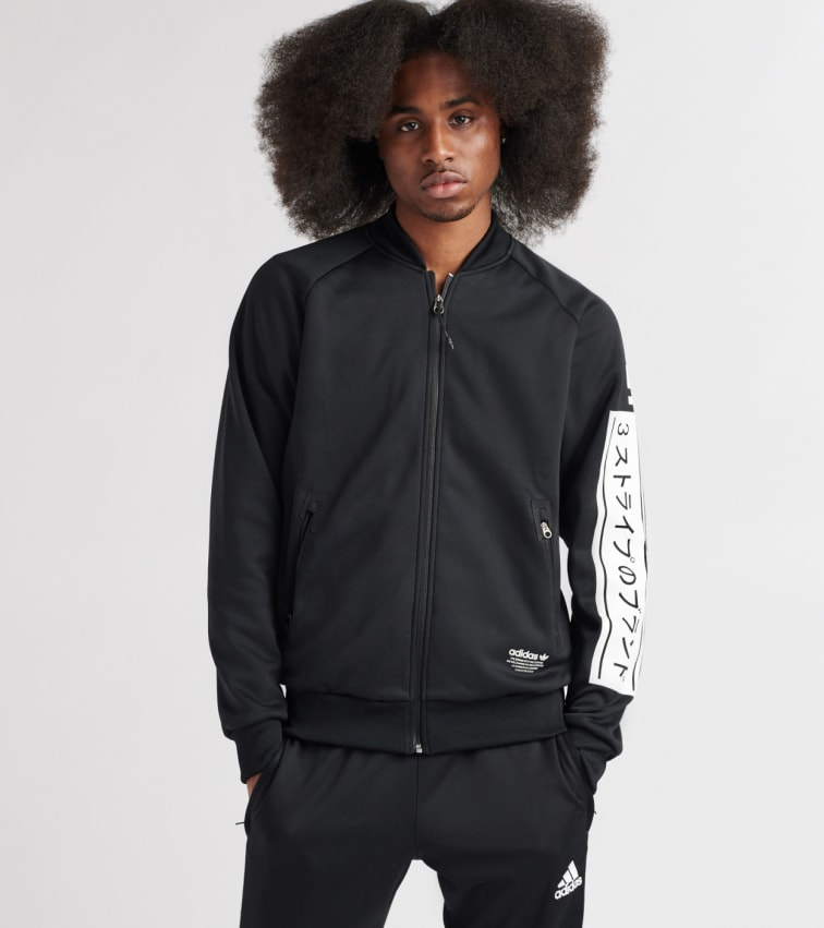 Nmd Q4 Track Jacket In Black