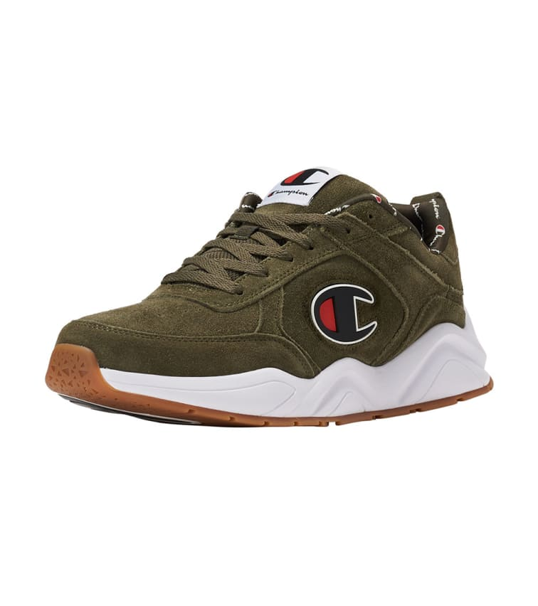 6e1a4ab6573 Champion Mens Champion 93Eighteen Suede Chenille Casual Shoes