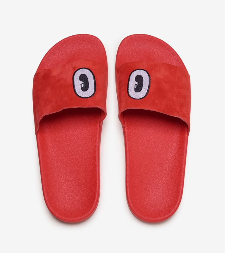 Adilette Slides in Red