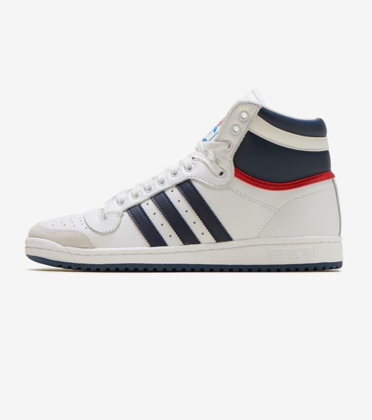 08e2a77775fdb Adidas Top Ten Hi (White) - D65161 | Jimmy Jazz