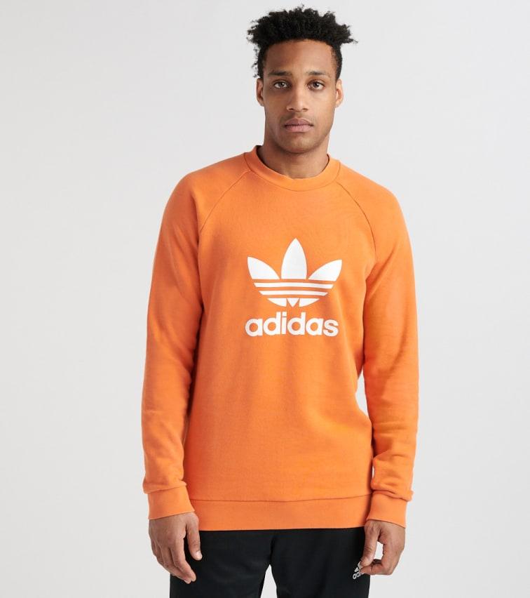 adidas Originals W BF Oversized Trefoil Hoodie Orange